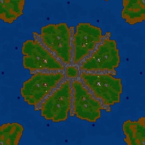 Warcraft 2 Inner Circle KPUD map image