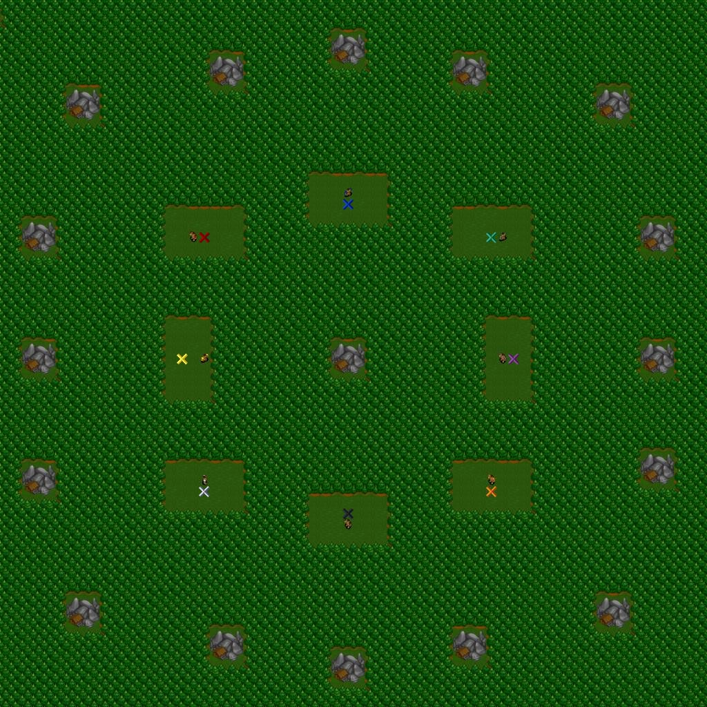 Chop - No Farms [PROPER] Warcraft 2 map image