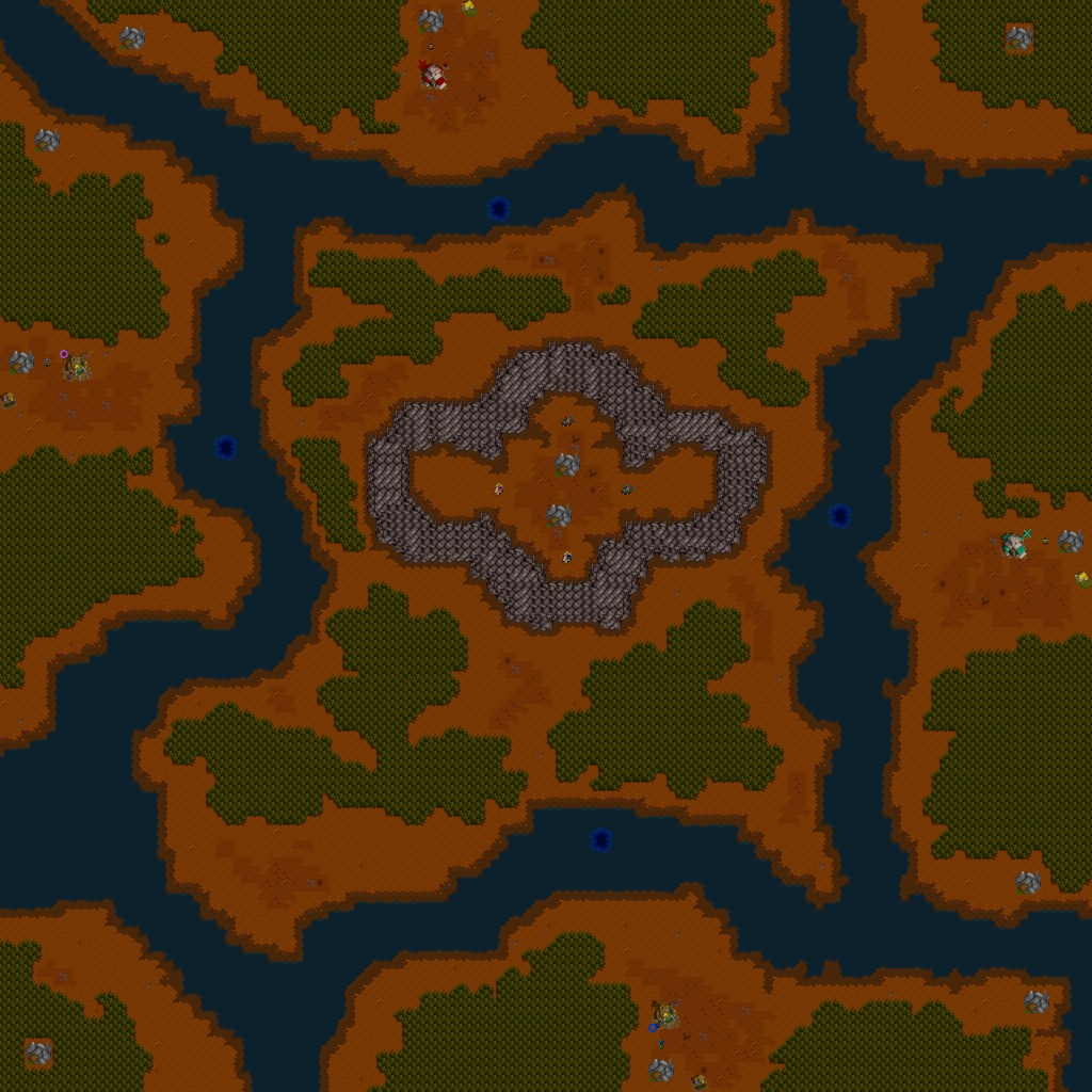 Warcraft 2 maps KPUDS from Kali and Kahn servers, some of the oldest player created maps