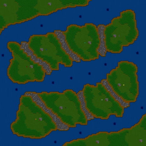 Warcraft 2 maps created by XBremer1 whom some just call Bremer. His maps are truly awesome.